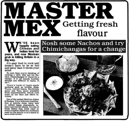 1990 Recipes