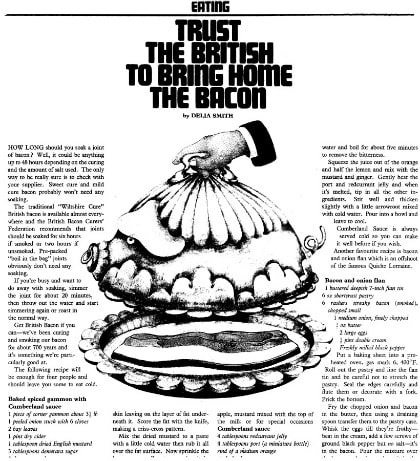 1970s Recipes and More from Newspapers