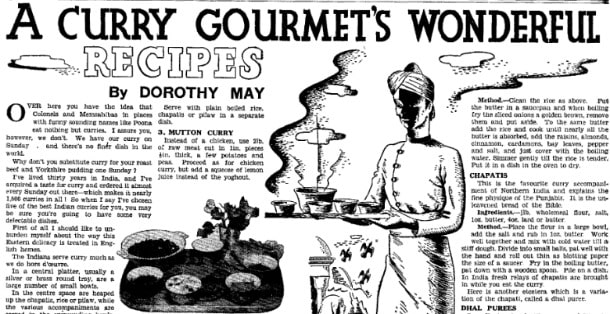 1930s Recipes