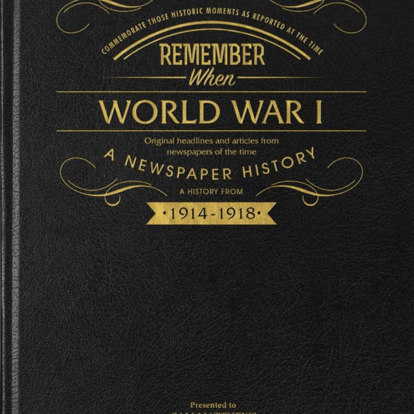 world war 1 newspaper book