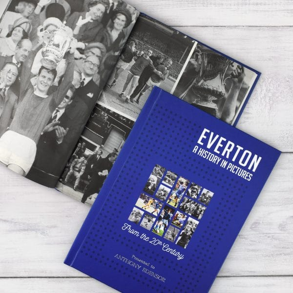 everton football photo book
