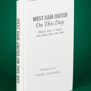 west ham history book