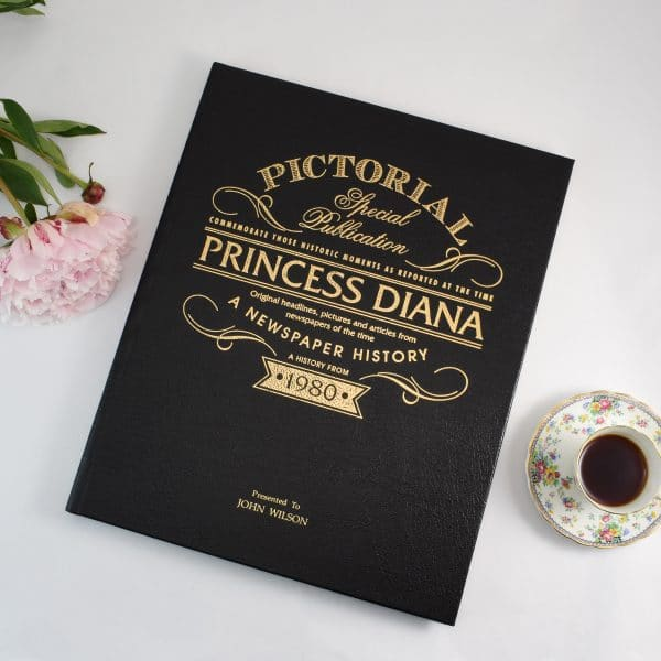 personalised princess diana picture book