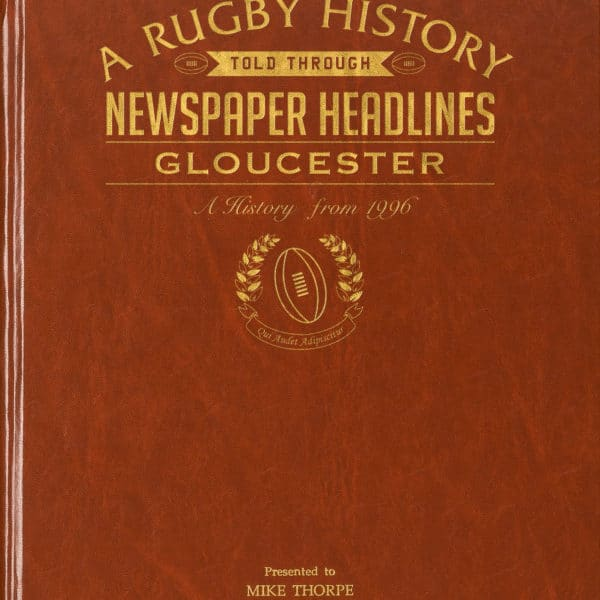 Gloucester Rugby Newspaper Book