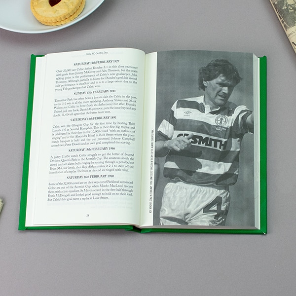 Celtic On This Day Book