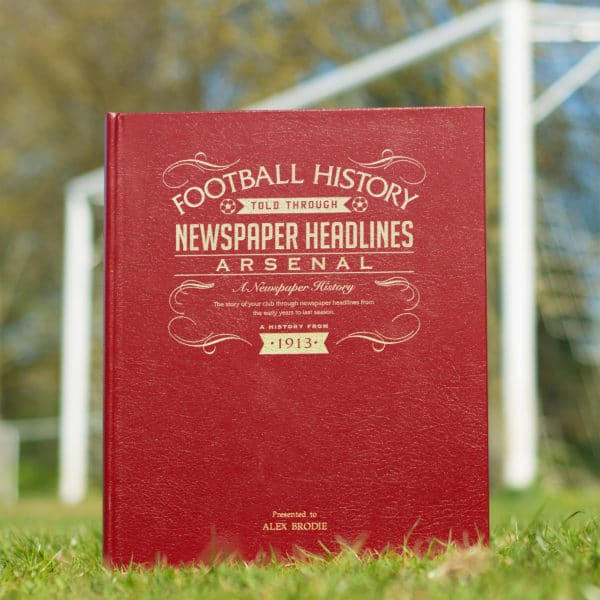 arsenal newspaper book
