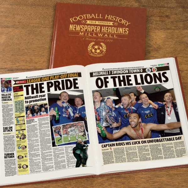 personalised millwall book