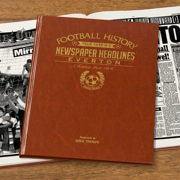 personalised everton book