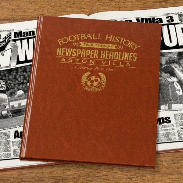 aston villa newspaper book