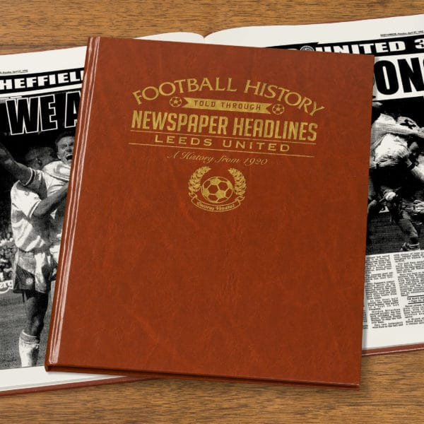 leeds united newspaper book