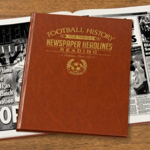 reading football book