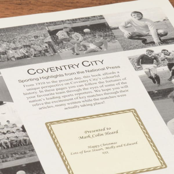 coventry city book