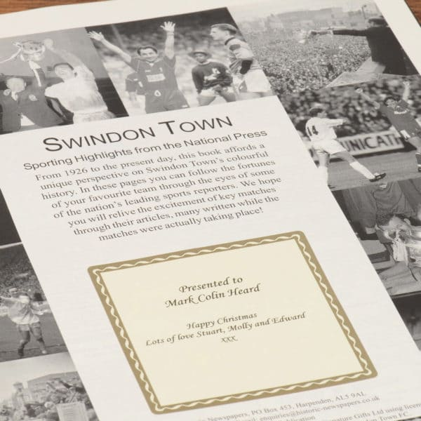 swindon football book