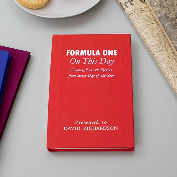 Formula 1 On This Day Book