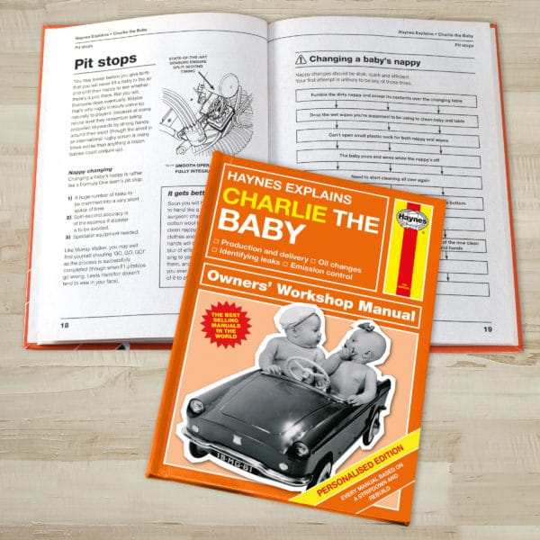 haynes explains baby manual