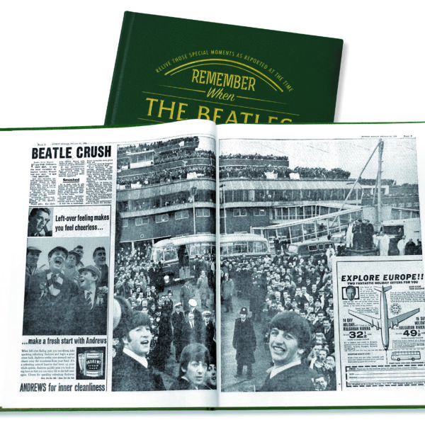 the beatles history newspaper book