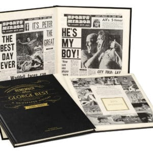 George Best Newspaper Book