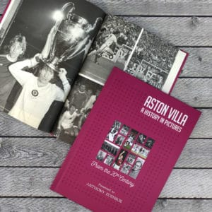 aston villa photo book