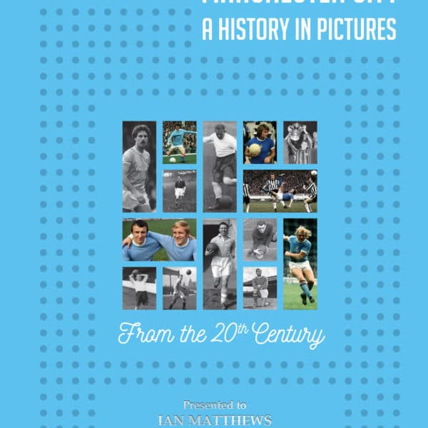 man city photo book