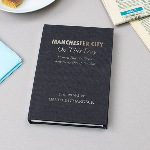 Man City On This Day Book
