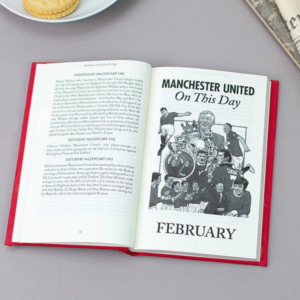Man Utd On This Day Book