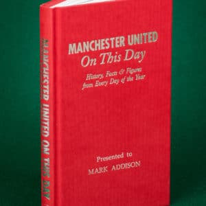 man united history book
