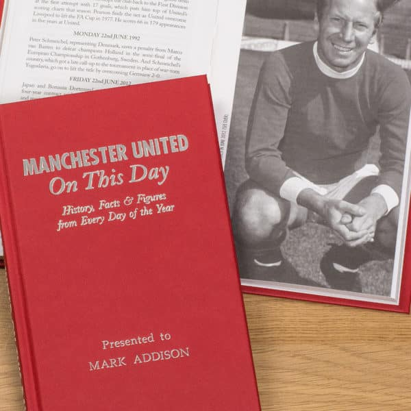 man United On This Day book