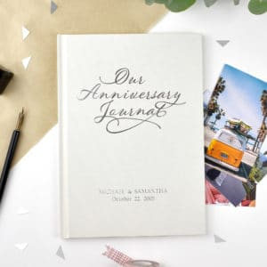 anniversary journal book