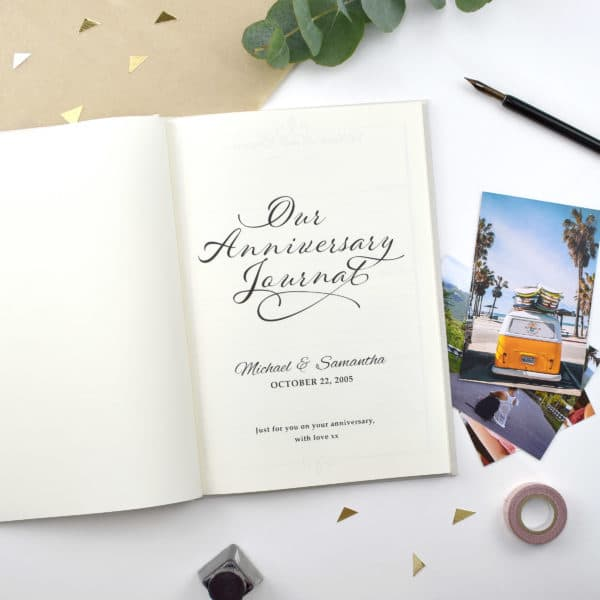 Our anniversary memory Journal