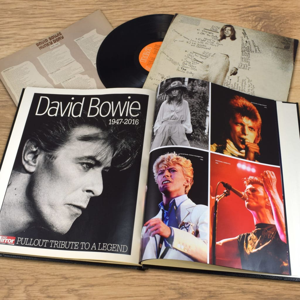 Personalised David Bowie Life Book