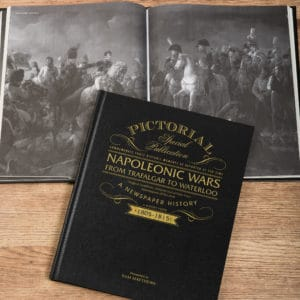 Napoleonic Wars Newspaper Book