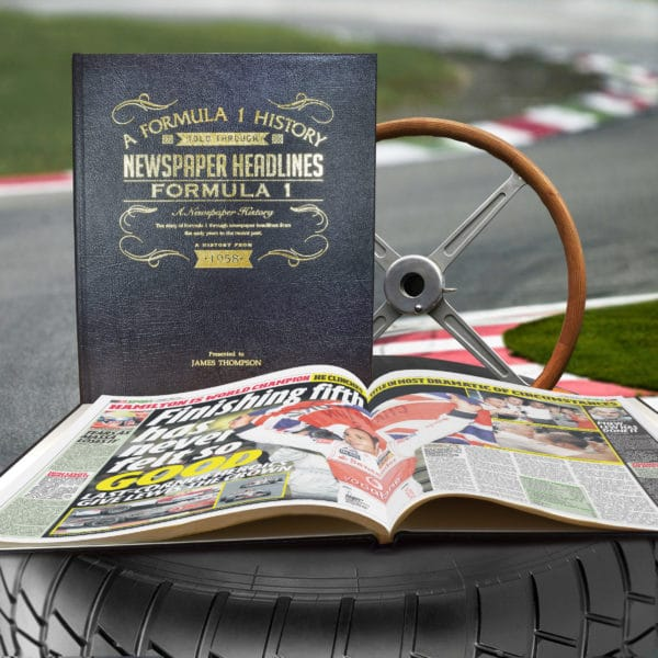 History of F1 Newspaper Book