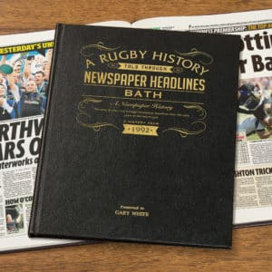 Bath Rugby Union History Book