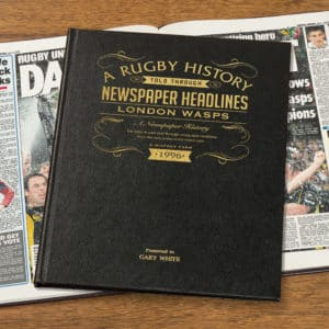 London Wasps Rugby Union Book