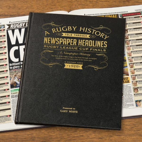 rugby league book