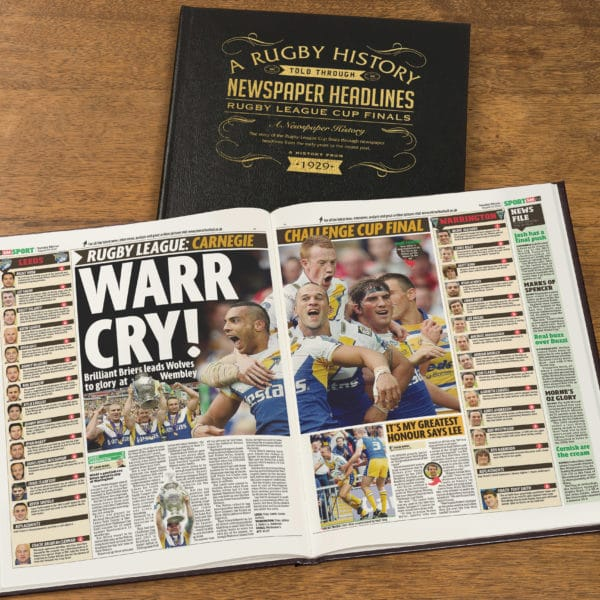 Challenge Cup Rugby book