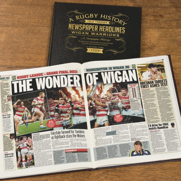 wigan warriors rugby book