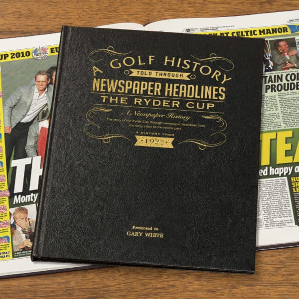 ryder cup book