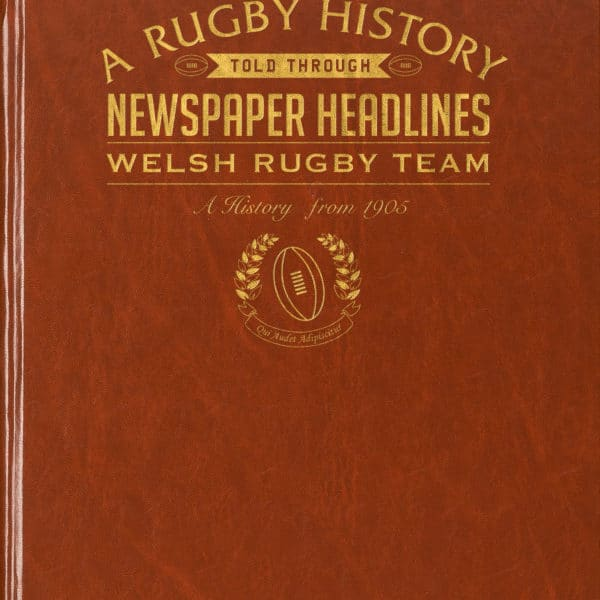 Welsh Rugby Newspaper Book