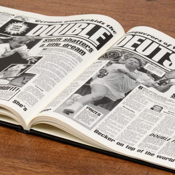 British Tennis Newspaper Book