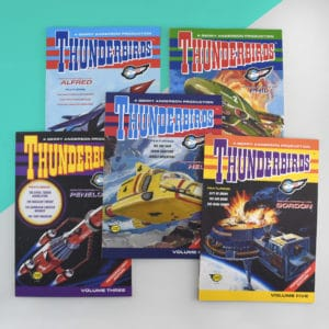 thunderbirds are go books