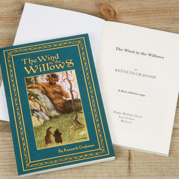 Wind in the Willows Personalized novel