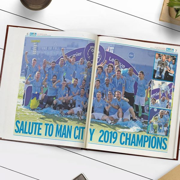 Man City Football Book