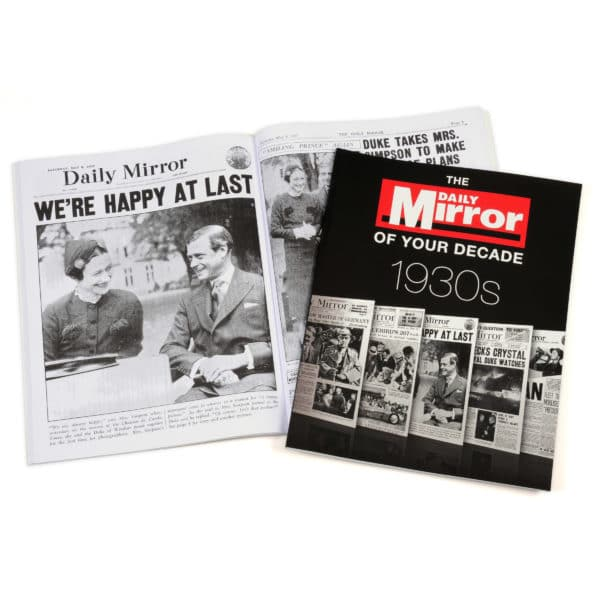 Daily Mirror 1930s book