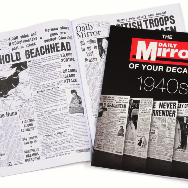 Daily Mirror 1940s book