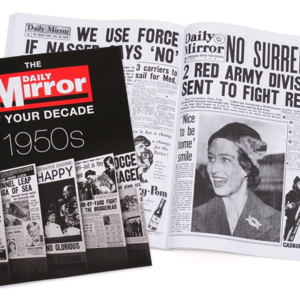 Daily Mirror 1950s book