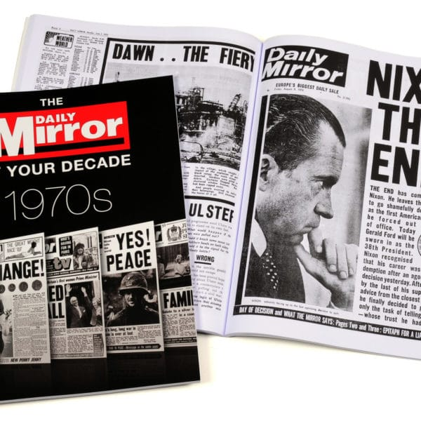 Daily Mirror 1970s book