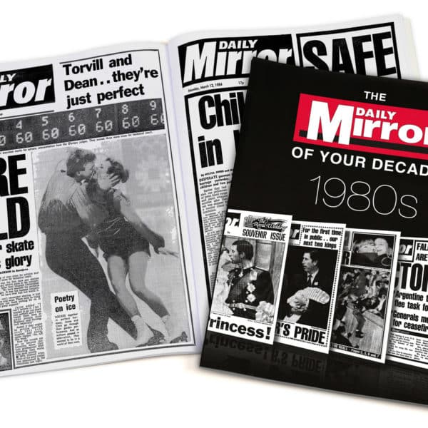Daily Mirror 1980s book