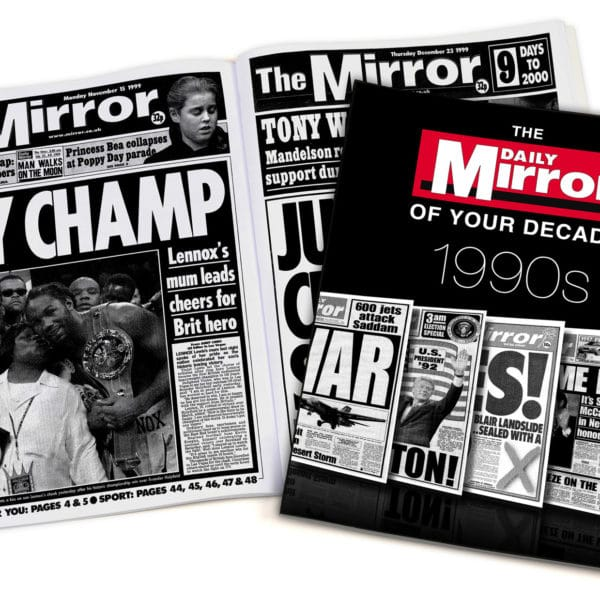 Daily Mirror 1990s book