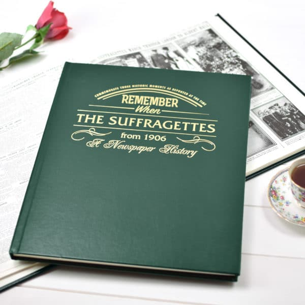 History of the Suffragettes Book